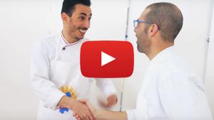 Is Maccarronis de busa con peperoni, pancetta e olive