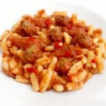 Is Malloreddus con mini polpettine al sugo