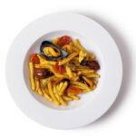 Is Maccarronis de Busa cozze e pomodorini